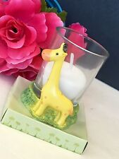 1-Baby Shower Table Decorations Candles Giraffe Party Favors Boy Safari Animals