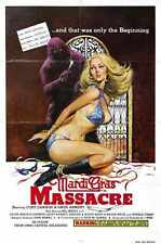 Mardi GRAS massacre Poster 01 A4 10x8 photo print