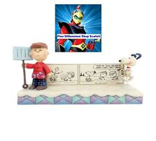 4055663 snoopy comic strip  enesco jim shore statue disney usa limited