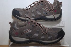 Columbia Mens Brown Suede Hiking Shoes Uk Size 9
