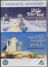 The Little Polar Bear/The Little Polar Bear 2 - Mysterious Island (DVD, 2009,...