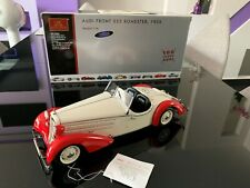 CMC 1/18 M-075C Audi Front 225 Roadster 1935 White/Red Limited edition 100 Jahre
