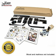 Queen Size Easy DIY Murphy Bed Hardware Kit Vertical Wall Mount Style