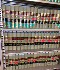 Decorative Law book Set ~ 6 Books ~ Staging Decorative Michigan Reports 1977-84