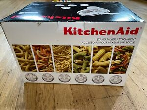 KitchenAid KPEXTA Stand-Mixer Pasta-Extruder Attachment W/ 6 Plates and Housing