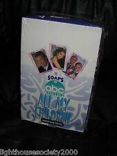 ALL MY CHILDREN ABC SOAP OPERA 1991 CARDART STAR PICS SEALED BOX COLLECTOR CARDS