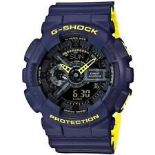 Casio G-Shock Men's GA110LN-2A Blue and Yellow Analog Digital XL Resin Watch