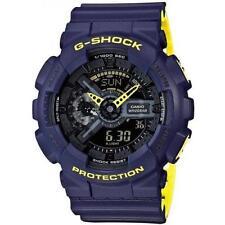 Casio G-Shock Men's GA110LN-2A Blue and Yellow Analog Digital XL Resin Watch