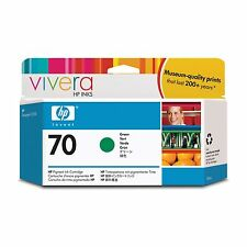 HP 70 Green Colour Ink Cartridge (130ml) with Vivera Ink