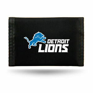 Detroit Lions Nylon Trifold Wallet