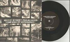 MANIC STREET PREACHERS Some kind of Nothingness w/ UNRELASED TRK UK 7 INCH Vinyl