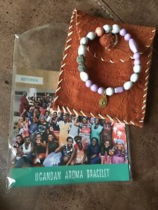 Doterra Ugandan Aroma Bracelet, Brand New And Unused, Made By Ugandan Ladies