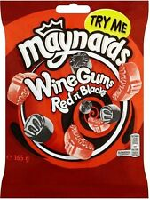 Maynards Wine Gums Red n' Blacks Sweets Bag (4x165g)