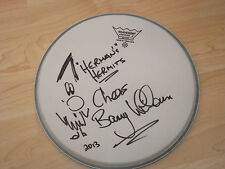 BARRY WHITWAM HERMANS HERMITS SIGNED DRUMHEAD