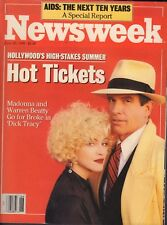 Newsweek Magazine June 25 1990 Madonna Warren Beatty 090917nonjhe
