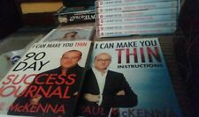 Paul McKenna I Can Make You Thin  6 DVD's Journal CD and instructions new