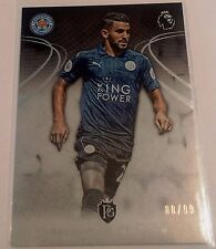 2016-17 Topps Premier Gold Mahrez Leicester City 08/99 paralelo