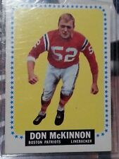 1964 Topps Don McKinnon New England Patriots #14 Football Card