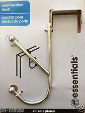 Over The Door Hook. Metal, Clothes Hook, Closet, Organization, Bathroom -Double