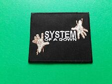 PUNK ROCK HEAVY METAL MUSIC SEW / IRON ON PATCH:- SYSTEM OF A DOWN