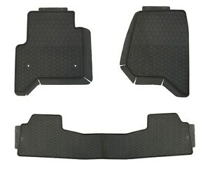 Floor Mats for Chevrolet Equinox 2018+ Custom Fit Rubber All Weather