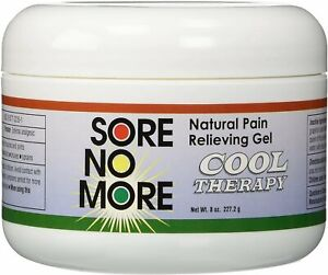 Sore No More Natural Pain Relieving Gel - 8 Oz Cool