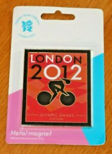 LONDON 2012 Olympic Venue Sport Pose Pictogram Cycling Games METAL MAGNET UK NEW