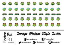 Teenage Mutant Ninja Turtles Waterslide Nail Decals  - 50 PC - BNA-20009