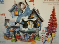 Department 56 North Pole Series - Frosty's Christmas Weather Station