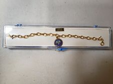 Gold filled Naval Underwater Systems Charm Bracelet
