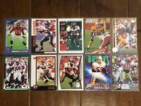 Mike Alstott - Tampa Bay Buccaneers - 10 Football Card Lot - No Duplicates
