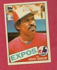 RARE 1985 TOPPS TIFFANY # 420 EXPOS ANDRE DAWSON   CARD