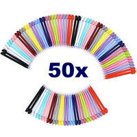 50 PCS Color Touch Screen Stylus Pen Pointer For Nintendo DS Lite Pack Plastic