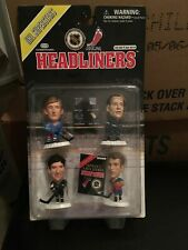 F22 1997 NHL Superstars Headliners 4 Pack Lemieux Gretzky Hull Messier