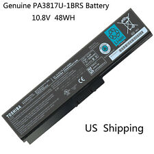 New PA3817U-1BRS Genuine Original Toshiba Satellite C655 L655 Laptop Battery USA