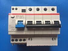 ABB DS204 AC-C16/0.03  16A  4 Pole RCBO 3 Pole & Neutral 30mA RCD 16 Amp Breaker