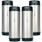 4 Pack New 5 Gallon Ball Lock Kegs AMCYL - Homebrew Beer - Soda - NSF Approved