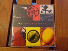 U2 - PREVIOUSLY  - CDs ORIGINAL PRESS - PROMO