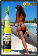 Corona Extra Sexy Tanned Beauty Refrigerator Magnet