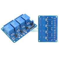 1/2/5/10PCS Four 4 Channel Relay Module DC5V Optocoupler For Arduino PIC ARM AVR