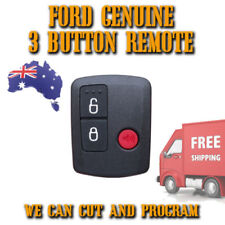 Ford Genuine 3 Button Remote Control - FREE POST - BAC15K601B - Easy To Program