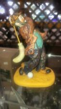 emmitt kelly golfing figurine collectible