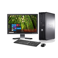 Fast Dell Optiplex Desktop PC Computer Dual Core 3.0Ghz 4GB 1TB Win 10  WIFI