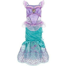 DISNEY STORE MERMAID ARIEL COSTUME L 10 DRESS UP LARGE NEW WITH TAGS