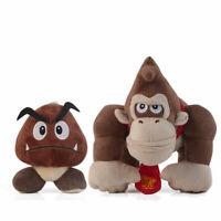 Super Mario Bros.Donkey Kong / Goomba Plush Doll Stuffed Toys New Year Gift