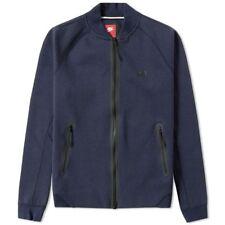 NIKE TECH FLEECE VARSITY JACKET 1MM [678508 473] Medium Blue RRP £90
