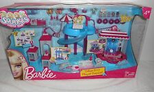 Barbie Squinkies Deluxe 3-in-1 Playset Waterslide, Rock Stage, Stables NEW