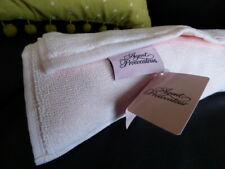 Agent Provocateur XL logo bath shower mat PINK script NEW yoga boudoir plush