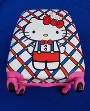 Hello Kitty Cabin Trolley Suitcase Kids Travel Bag Hand Luggage 4 Wheels UK