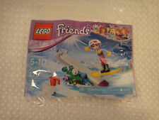 Lego Friends Set #30402 Snowboard Winter Tricks 27 Pcs New